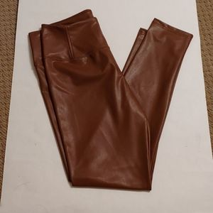 7 for all mankind brown faux legging